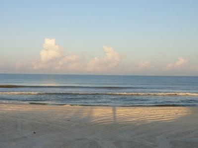 Beach Shoreline on the Forgotten Coast Florida